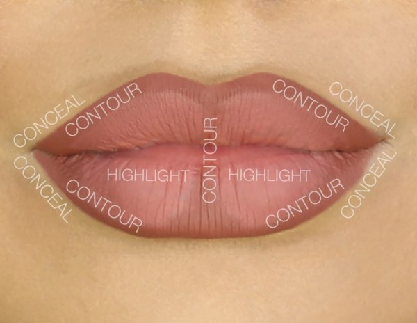 Lip Contour image from glamour.com