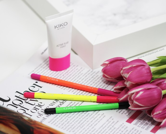 Kiko Cosmetics Active Fluo Collection