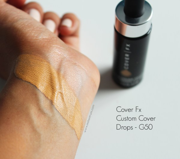 Cover Fx Custom Cover Drops Review + Swatches of G50