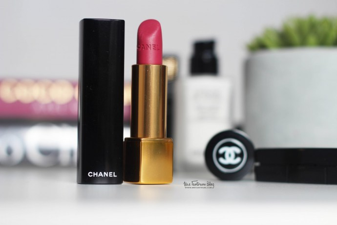 Chanel lipstick review - Rouge allure velvet luminous matte