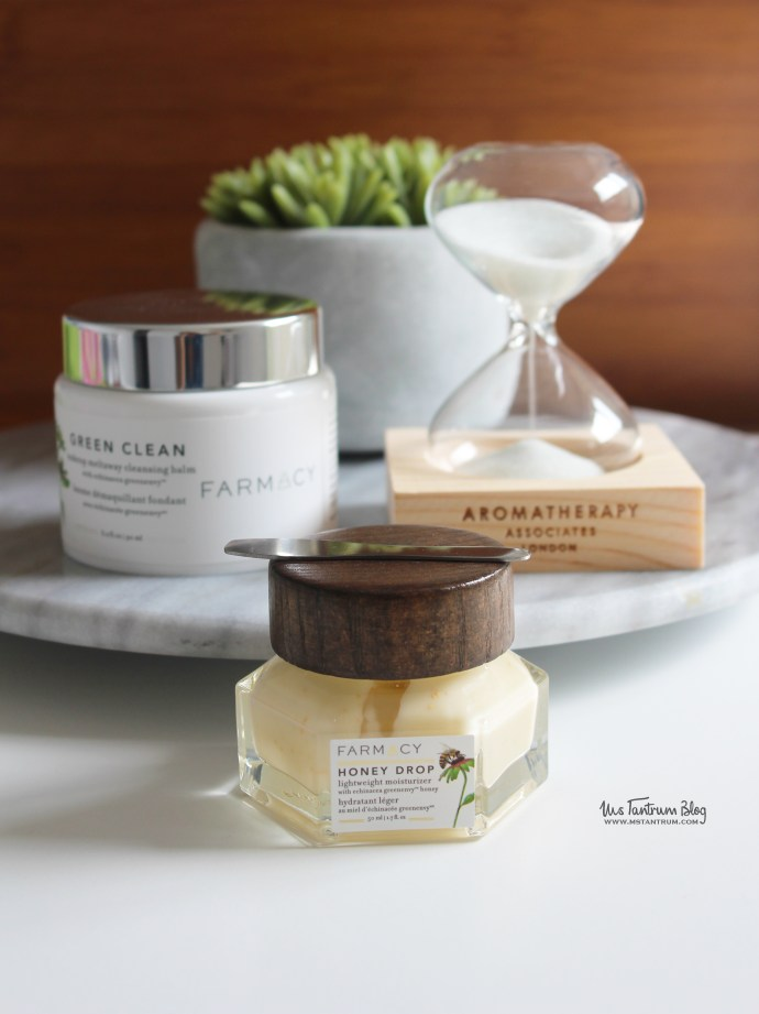 Farmacy Beauty - Green Clean Cleansing Balm and Honey Drop Moisturizer Review on Ms Tantrum Blog