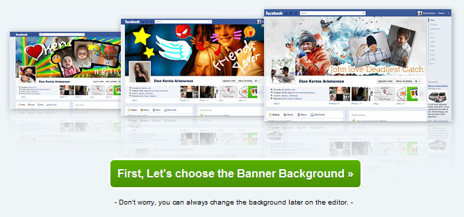 make facebook timeline covers very easily for free