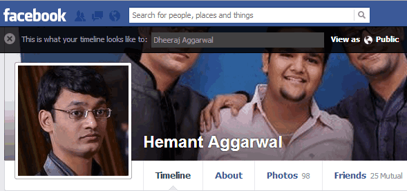 View-Facebook-Profile-As-A-Friend