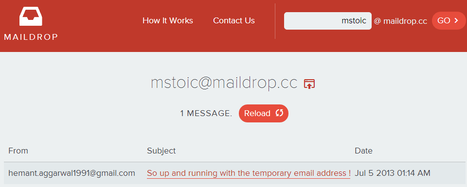 Temporary-Disposable-Email