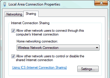 Share-Internet-Connection