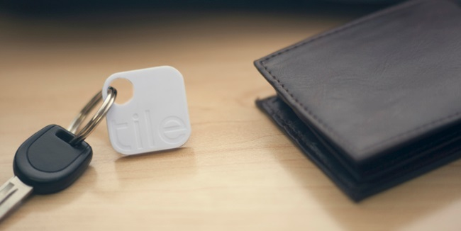 The Tile, never loose your stuff. Find your keys, wallet, etc using your smartphone. Buy here
