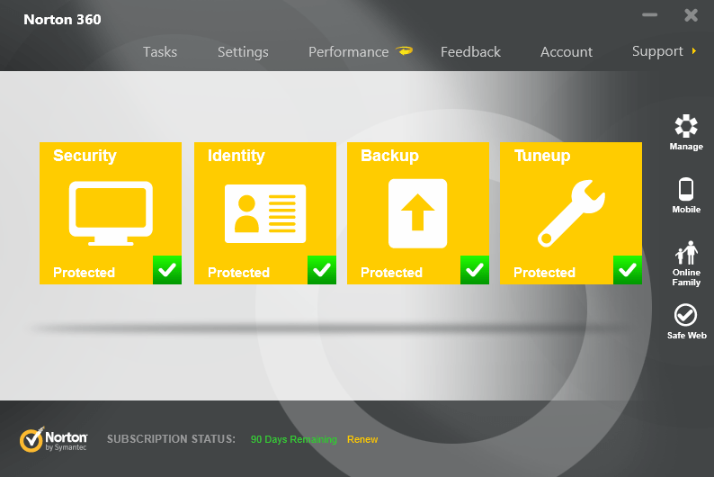Norton internet security 2014 free download 90 days trial product.