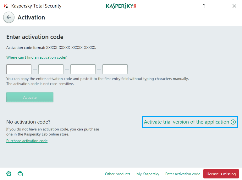 kaspersky android activation code 2017