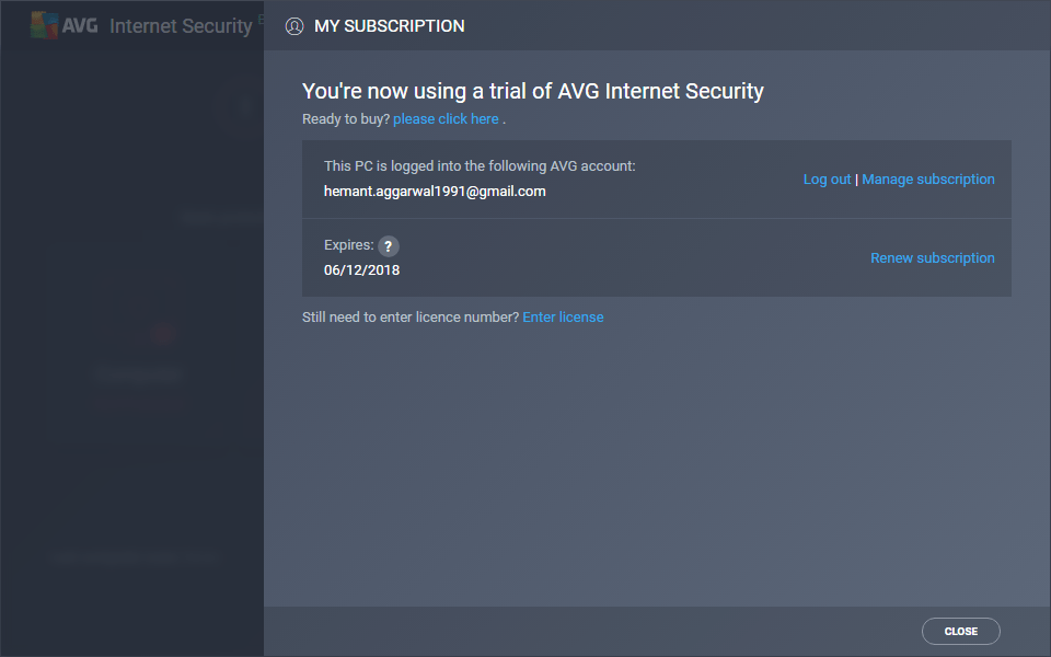 Download AVG Internet Security 2018 120 Days Free Trial