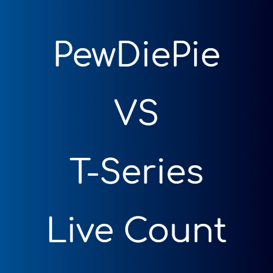 PewDiePie VS T-Series