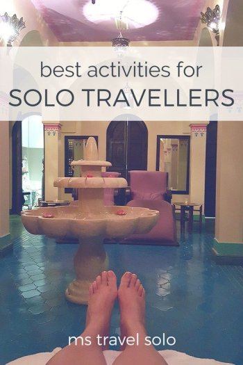 Travelling solo is so much fun! Here is a list of the best activities you can do on your solo trip. And don't forget to pin it on your Pinterest board. #solotravel #travelsolo #bestactivities #soloactivities