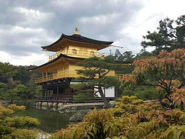My Kyoto 2 day itinerary includes attractions like Kinkaku-ji Temple, the iconic golden temple in Kyoto.