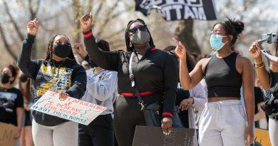 Students march, raise voices against hate