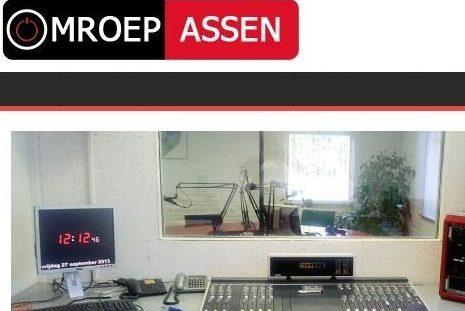 Radio interview bij Omroep Assen