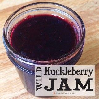 Wild Huckleberry Jam