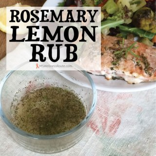 Rosemary Lemon Rub