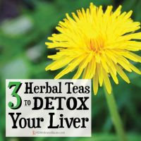 3 Herbal Teas to Detox Your Liver