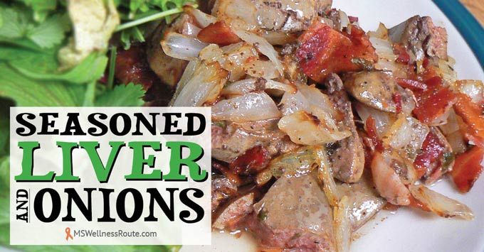 Seasoned Liver and Onions