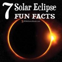7 Solar Eclipse Fun Facts