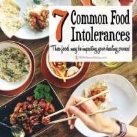 7 Common Food Intolerances