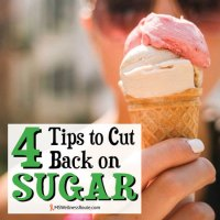 4 Tips to Cut Back on Sugar