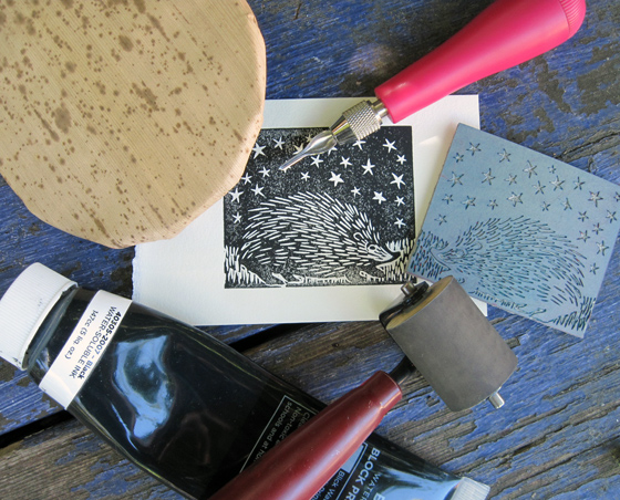 Melissa West Introduction To Linoleum Block Printing