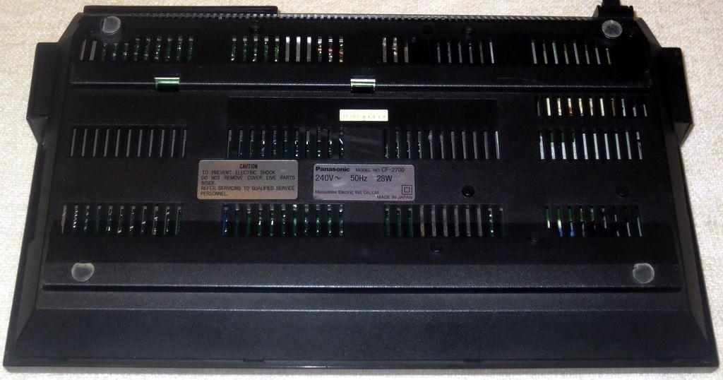 Panasonic CF-2700 (UK) - MSX Wiki