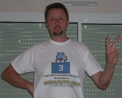 Camiseta del MSXosaure