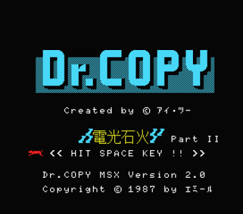 Dr. Copy