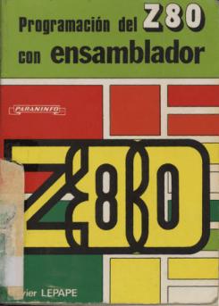 Programación del Z80 con ensamblador - Portada