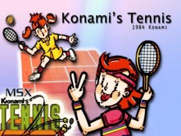 Konami's Tennis - JoseR