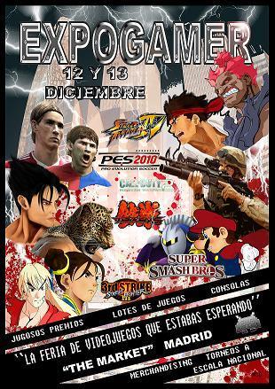 Cartel de Expogamer 2009