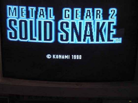 ... al menos puedes jugar a Metal Gear en el CMS.