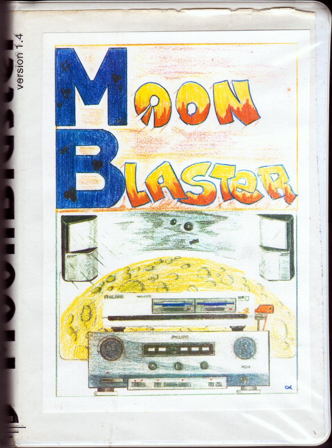 Moonblaster (Moonsoft, 1993) (Cover)