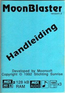 Moonblaster (Moonsoft, 1993) (Manual cover)