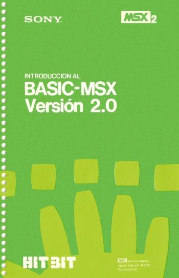 Introducción al BASIC-MSX 2.0