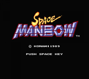 Space Manbow (Konami, 1989)