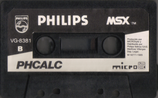 PHCalc (Philips, 1985) (Tape, side B)