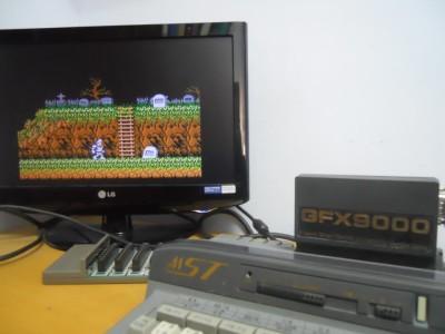Ghost'n Goblins en MSX turbo R (fuente - Guantxip)