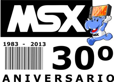 Diseño conmemorativo del 30º aniversario del MSX (castellano)