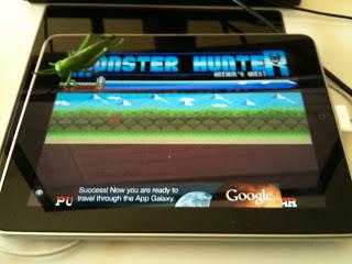 Monster Hunter en iOS