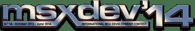 logo_msxdev14