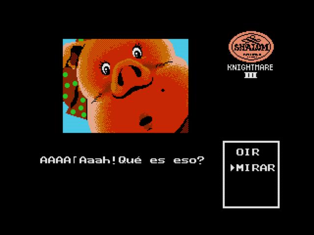 Shalom (Konami, 1987) (MSX2 version by Ramones) (7)
