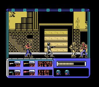 Robocop con graficos en color (MSX Extendido)