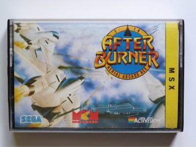 After Burner (SEGA, 1988) (Carátula)