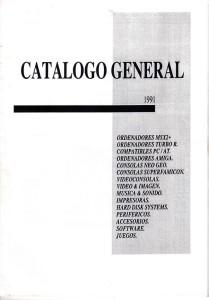 Catalogo General LASP 1991