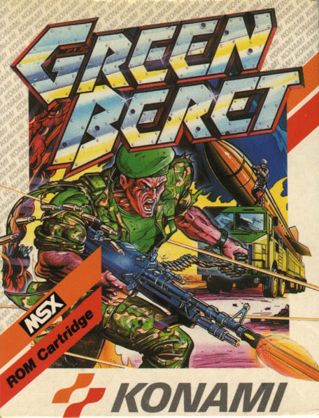 Carátula de Green Beret