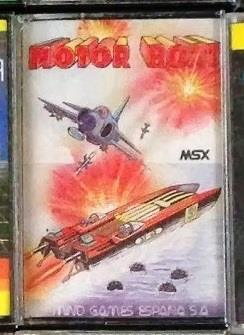Motor Boat (Mind Games Espana, 198x) (Front cover)