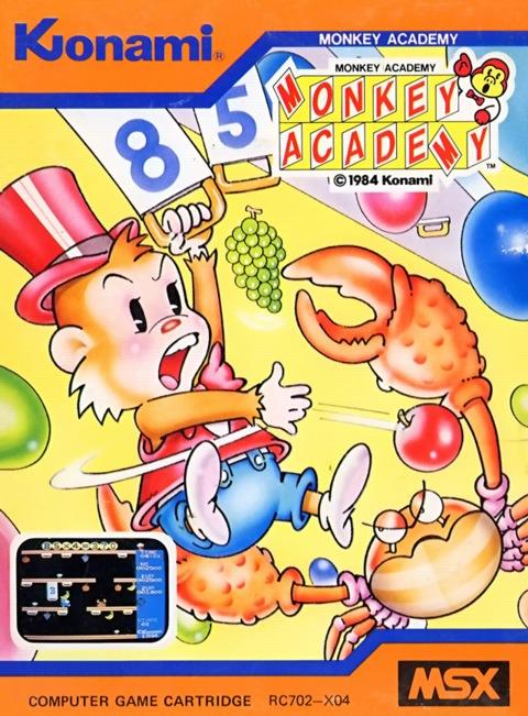 Caratula de Monkey Academy