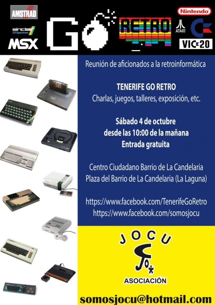 Reunión Tenerife Go Retro 4 de octubre de 2014